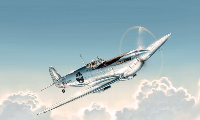 Hommage. Mit dem Flug um die Erde soll die Geschichte der Spitfire gewürdigt werden.