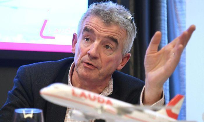 """Ryanair-Chef Michael O'Leary: """"Wenn sich der Erfolg nicht einstellt, kommen die drei Flieger nicht nach Wien, sondern woanders hin."""""""