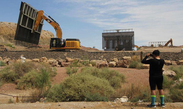 Archivbild: Der Supreme Court hat eine Finanzierungssperre für die Mauer an der Grenze zu Mexiko aufgehoben.