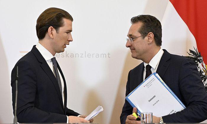 MINISTERRAT: KURZ / STRACHE