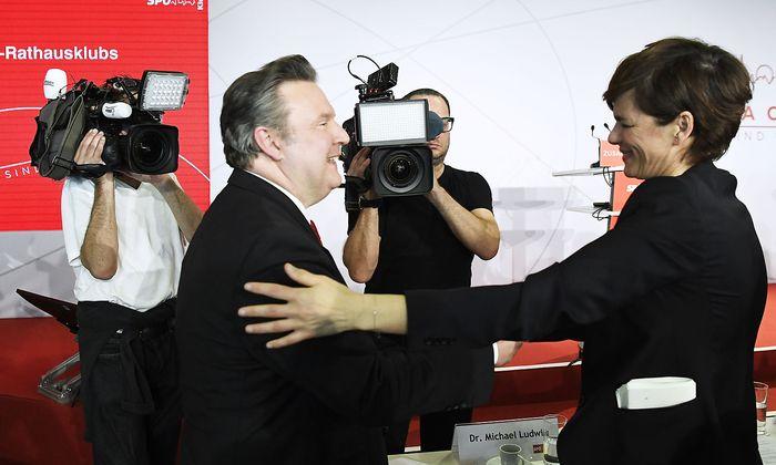 Parteichefin Rendi-Wagner besuchte die Klubklausur der Wiener SPÖ