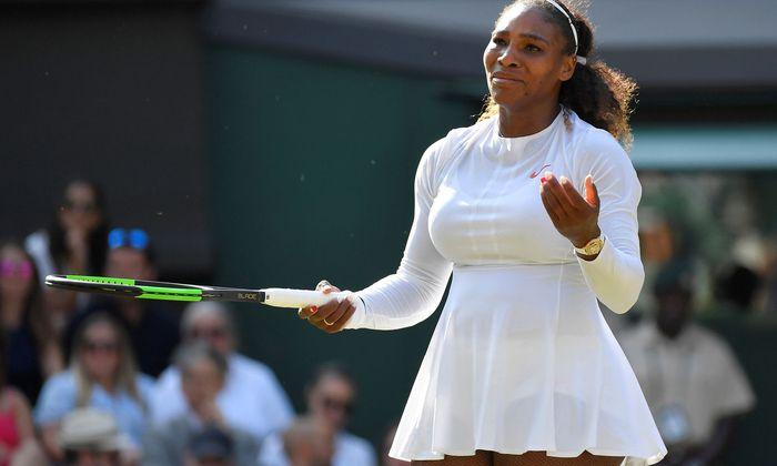 In Wimbledon schaffte es Serena Williams noch ins Finale.