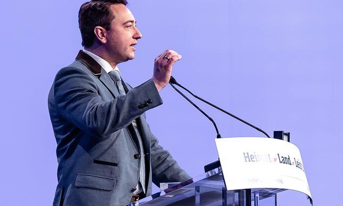 Manfred Haimbuchner pochte in Linz auf Einigkeit der Partei.