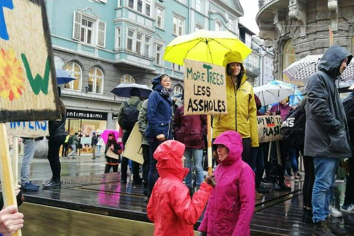 TIROL: KLIMA-DEMO - 'FRIDAYSFORFUTURE'
