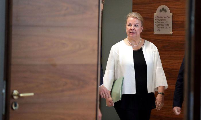 Die frühere Sozialministerin Beate Hartinger-Klein (FPÖ)