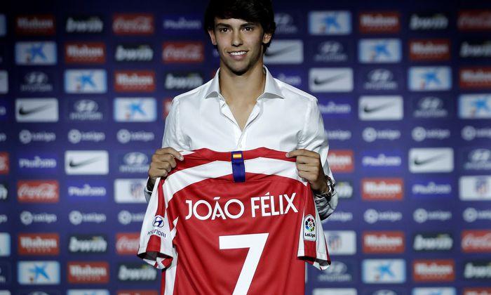 19 Jahre jung und schon einer der Teuersten der Geschichte: João Félix, Hoffnungsträger von Atlético Madrid.