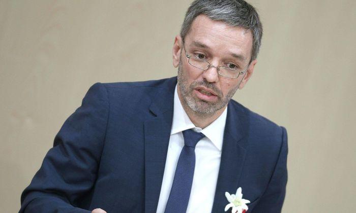 Innenminister Herbert Kickl.