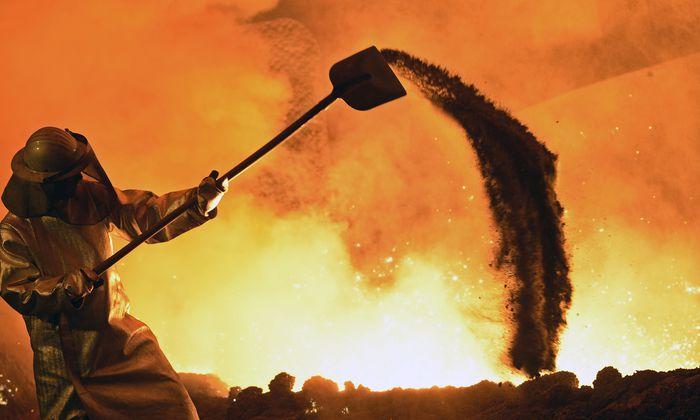 Bei der heurigen Lohnrunde der Metaller geht es wortwörtlich heiß her. Die Sozialpartner wollten bisher nicht einlenken.