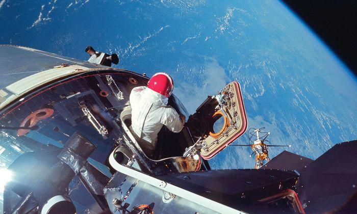 Apollo 9 CM Pilot Dave Scott.