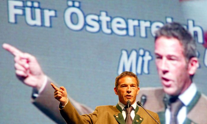 Jörg Haider (Archivbild Juni 2002).