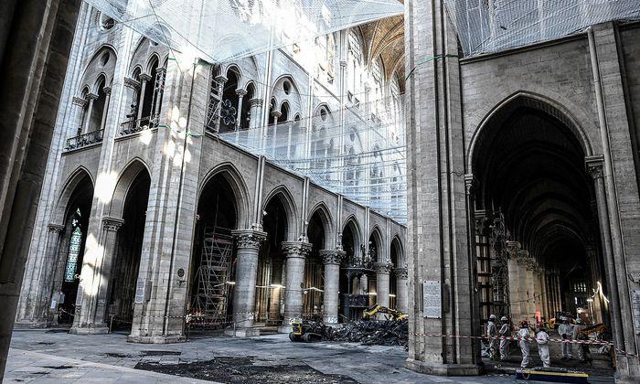 Eine Innenansicht aus der Kathedrale.