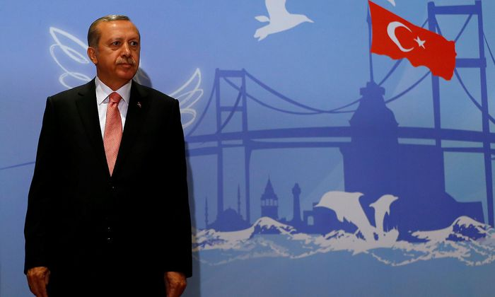 Archivbild. Der türkische Präsident Erdogan sieht die Türkei weiterhin auf EU-Kurs.
