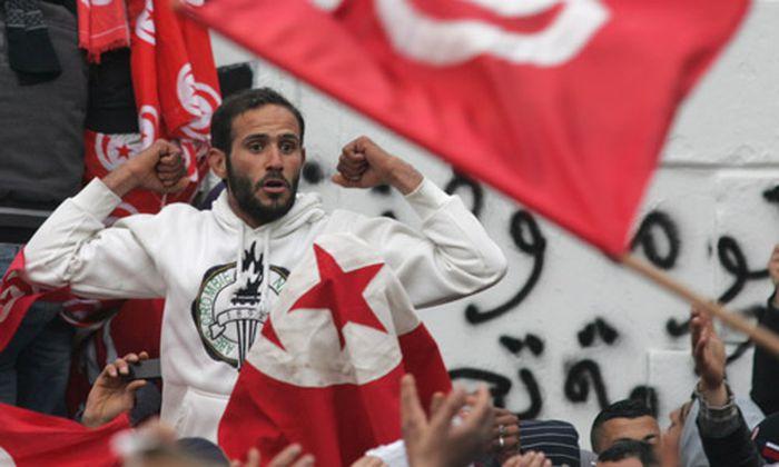 Tunis: Tränengas gegen