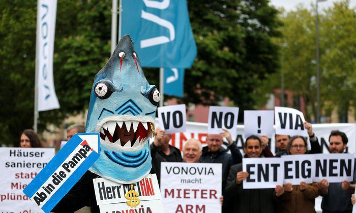 Nach Mieterprotesten steigt der Wohnungskonzern Vonovia auf die Bremse