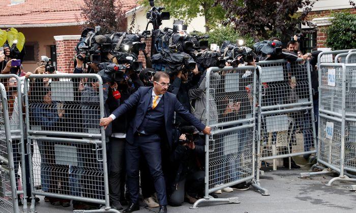Seit zwei Wochen im Mittelpunkt des politischen und medialen Interesses: das saudische Konsulat in Istanbul, in dem die türkischen Behörden im Fall Khashoggi eine neunstündige Durchsuchung vornahmen. Auch die Residenz des saudischen Generalkonsuls war Ziel einer Razzia.