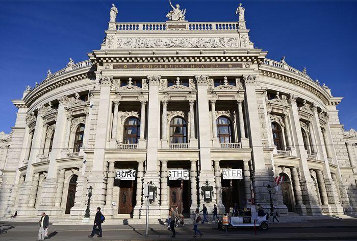 Burgtheater in Wien.