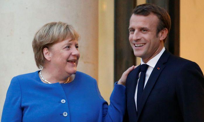 Angela Merkel und Emmanuel Macron hatten sich bereits im Elyseepalast getroffen, um das Treffen in Toulouse und den EU-Gipfel vorzubereiten