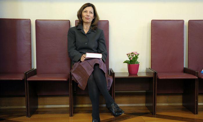 Erzählerin von generöser Freigebigkeit. Ursula Krechel.