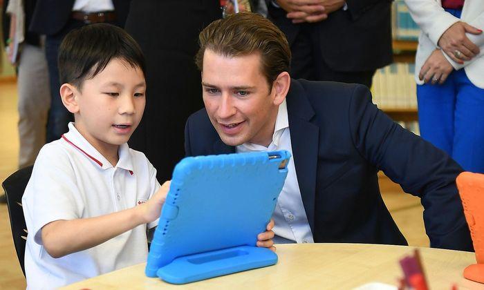 Bundeskanzler Sebastian Kurz und drei weitere Minister haben sich in den vergangenen Tagen auf eine Lernreise, wie sie es selbst bezeichneten, nach Singapur und Hongkong begeben. Im Bild: die Canadian International School in Hongkong.