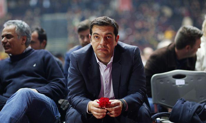 Syriza Party Leader Alexis Tsipras Pre-Election Congress