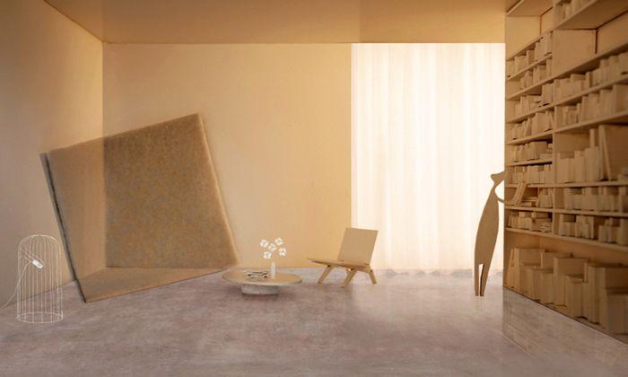 Ideen-Wettbewerb. Ein Teppich, der in der Ecke knotzt. Auch was Neues.