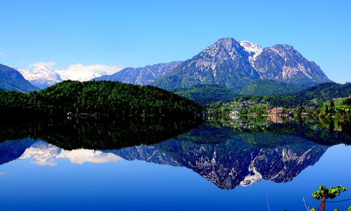 Ein gigantisches Tintenfass, in das Literaten ihre Federkiele tauchten: Der Altausseer See.