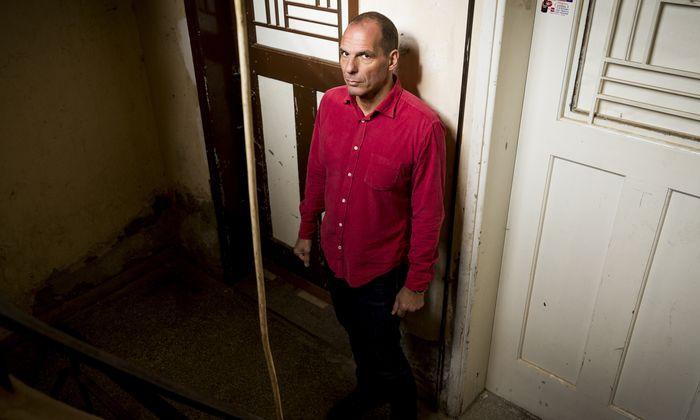 """""""Bin Außenseiter geblieben"""": Yanis Varoufakis, Griechenlands früherer Finanzminister."""