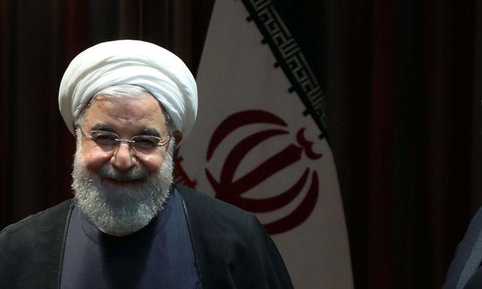 Irans Präsident, Hassan Rohani.