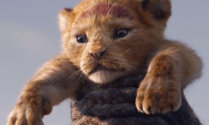 """Disneys """"König der Löwen"""" Simba."""