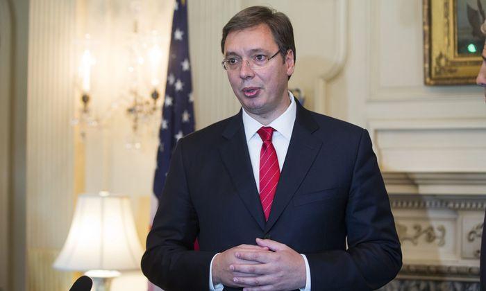 Regierungschef Aleksandar Vucic