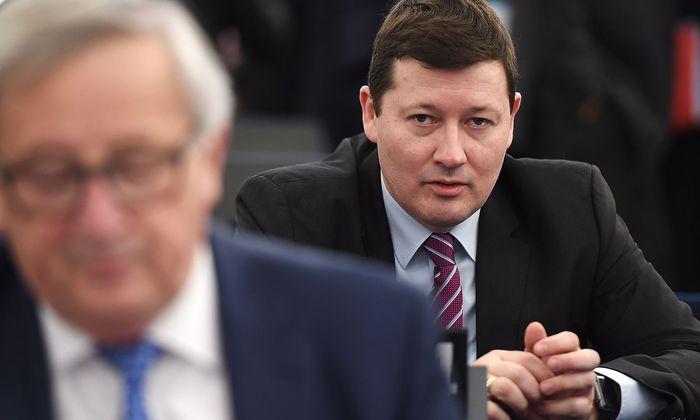FRANCE-EU-PARLIAMENT-POLITICS-BREXIT
