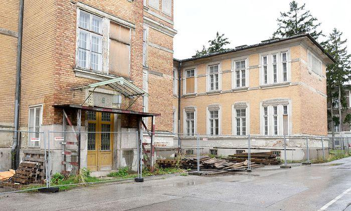 Archivbild: Baustelle auf den Steinhofgründen