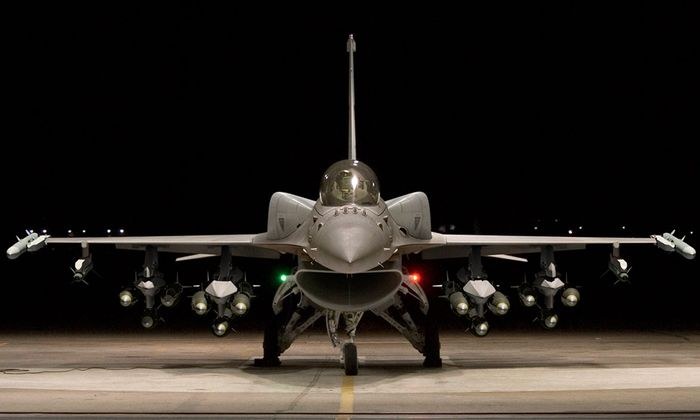 Darstellung der möglichen F-16 Block 70 für Indien