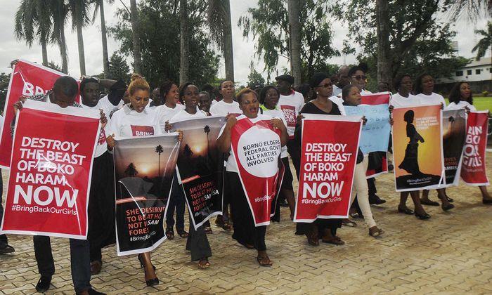 NIGERIA CHIBOK GIRLS ABDUCTED