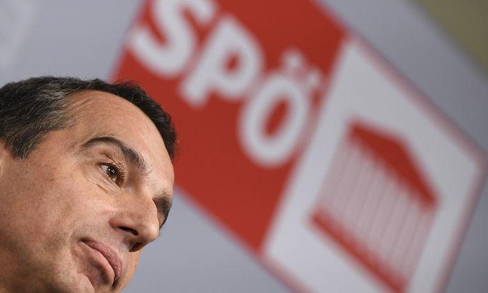 SPÖ-Parteichef Christian Kern.