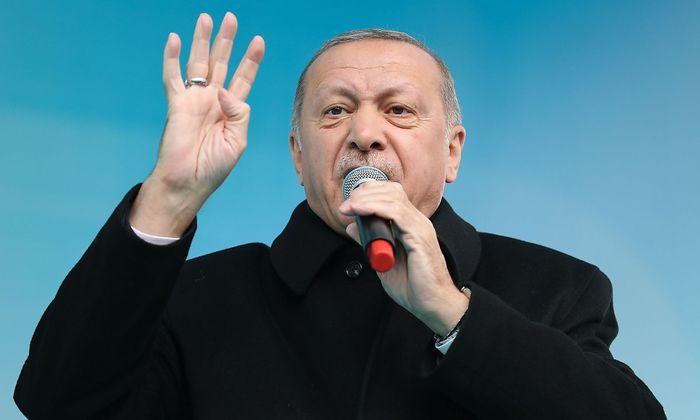 Der türkische Präsident Erdoğan