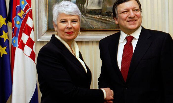 EU-Beitritt Kroatiens: Barroso hält sich bedeckt