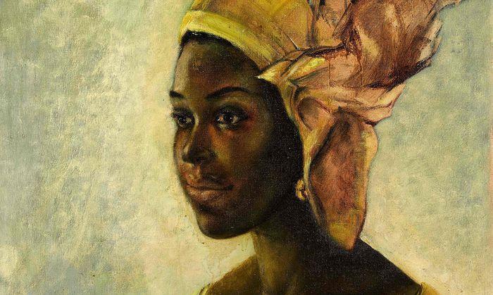 BRITAIN-NIGERIA-ART-AUCTION