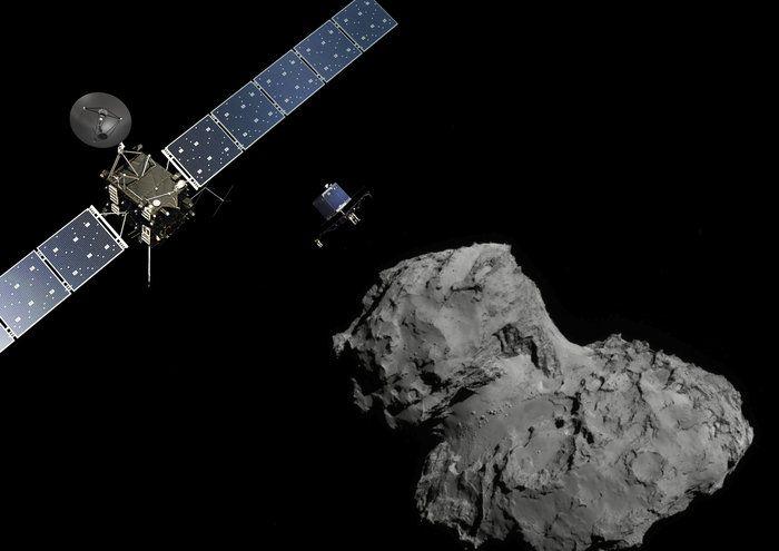 Philae wurde um 9.35 MEZ von Rosetta abgetrennt