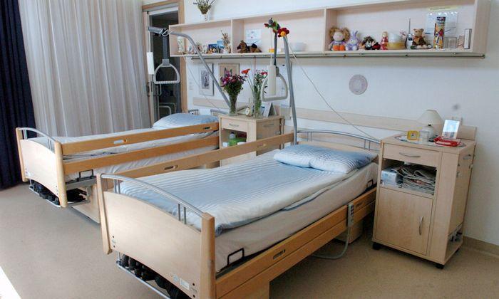 Symbolbild: Pflegebetten