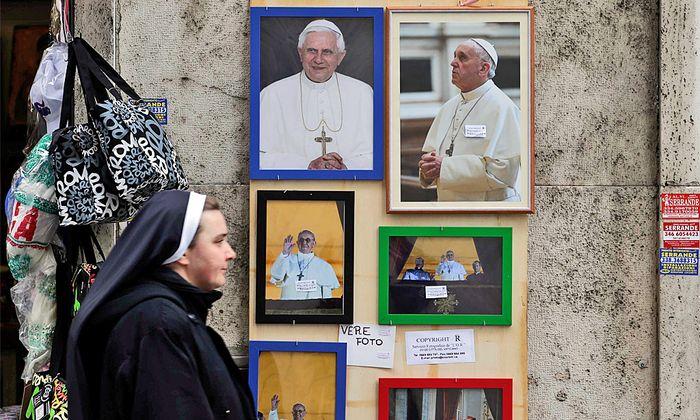 Papst Teufel Franziskus Minenfeld