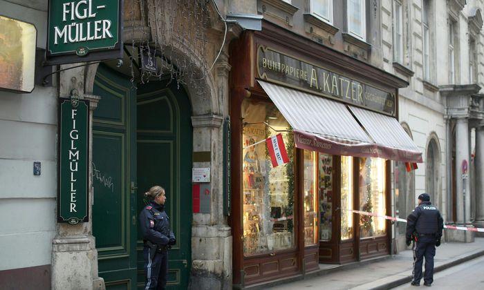 Der Tatort in der Wiener Innenstadt.