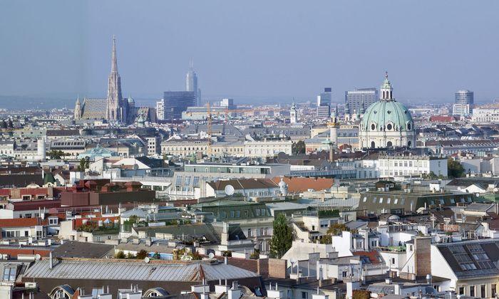 Blick auf die ''Spionagehochburg'' Wien
