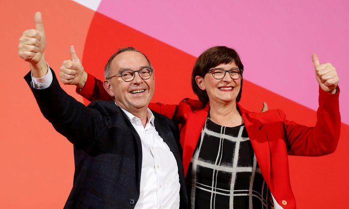 Norbert Walter-Borjans und Saskia Esken wurden an die Spitze der SPD gewählt.