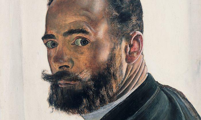 Er liebte auch sich selbst: Rund 150 Selbstporträts fertigte Hodler an, hier eines von 1891.