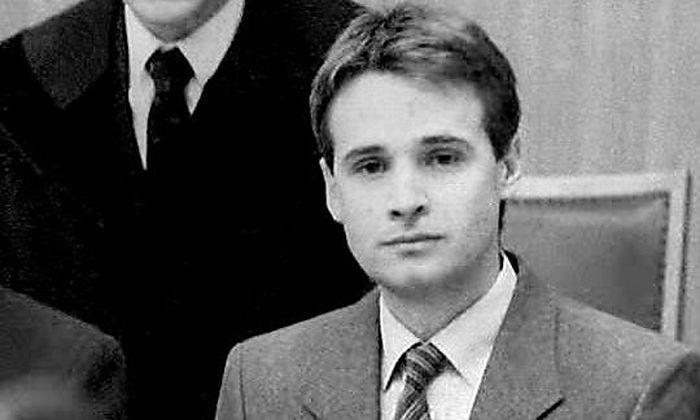 Archivbild: Tibor Foco während des Prozesses im Jahre 1987.