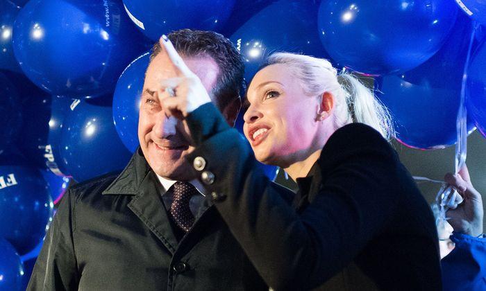 Heinz-Christian und Philippa Strache haben sehr gute Chancen, den Machtkampf gegen die FPÖ zu gewinnen.