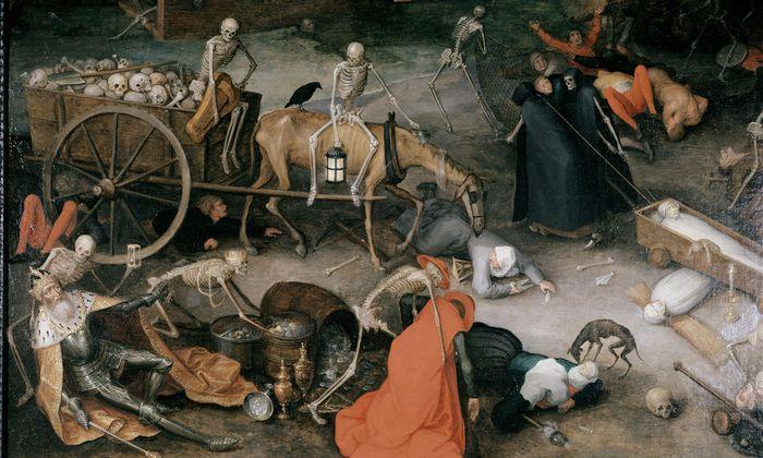 J.Brueghel d.Ae., Triumph des Todes - Brueghel / Triumph of Death / o/c - Brueghel / Triumphe de la Mort / o/c.