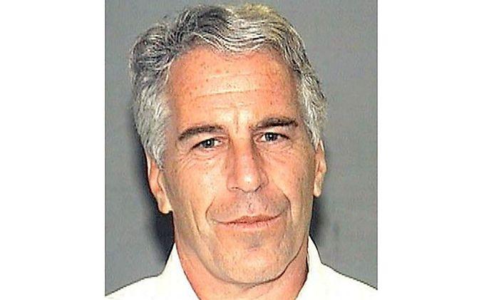 Jeffrey Epstein auf einem Polizeifoto.