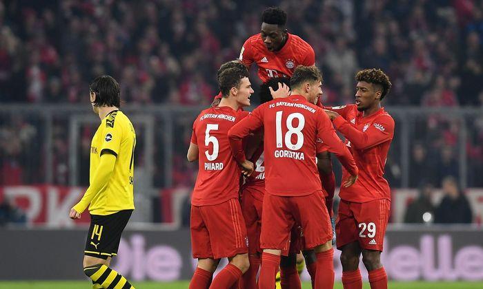 Bayern jubelt